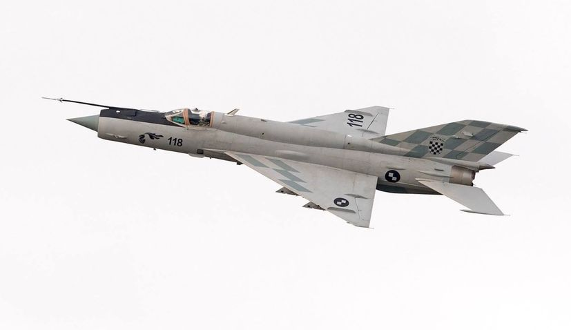 Croatian government to receive feasibility study for procurement of fighter jets next week
