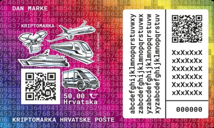 VIDEO: The first Croatian crypto stamp issued