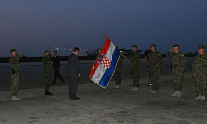 Croatian troops arrive home: 'There is no longer a reason for the Croatian army to be in Afghanistan, so far from home'