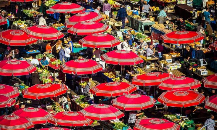 Zagreb's famous Dolac farmers' market turn 90