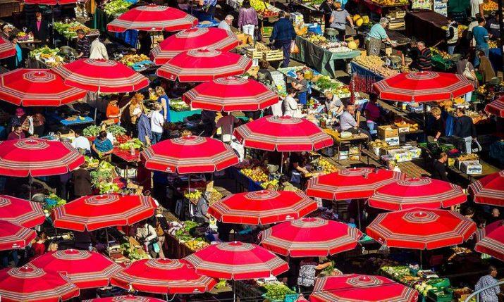 Zagreb's famous Dolac farmers' market turn 90