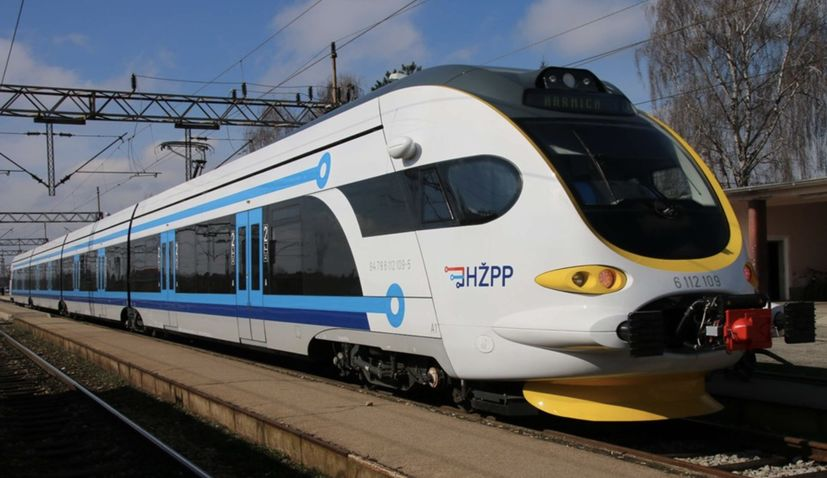 New electric trains to make Croatia's rail network more efficient and competitive