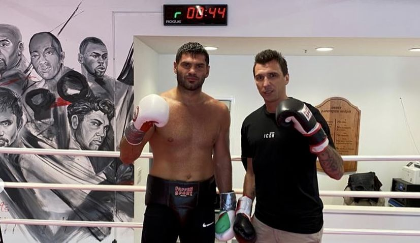 Filip Hrgović answers Mario Mandžukić's call for a sparring partner