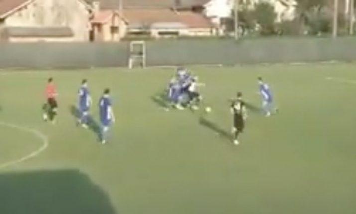 VIDEO: Croatian league player scores Diego Maradona-esq goal of the century
