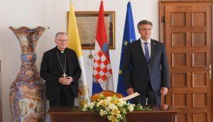 Papal Nuncio Jozic Croatia