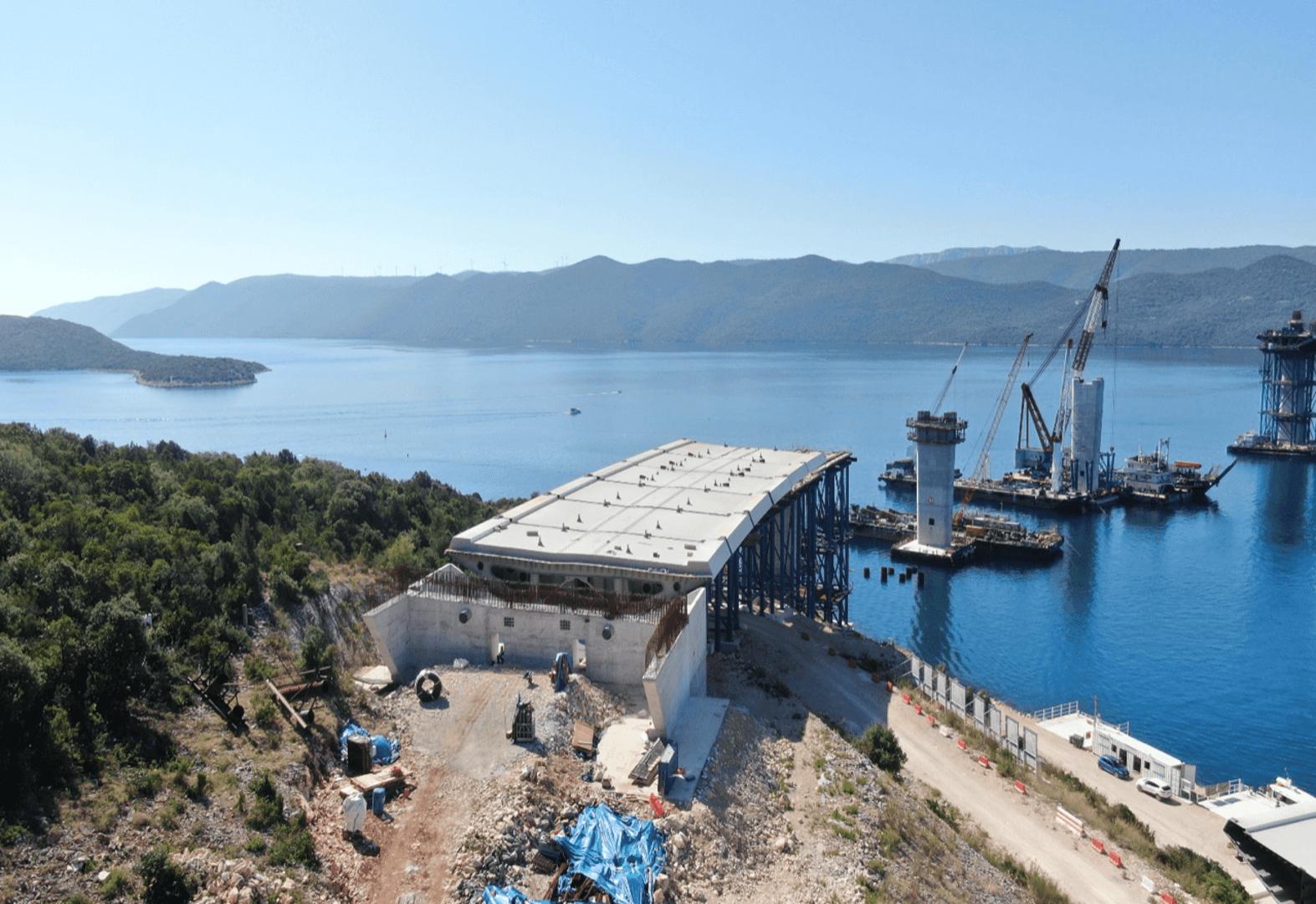 Peljesac Bridge Croatia