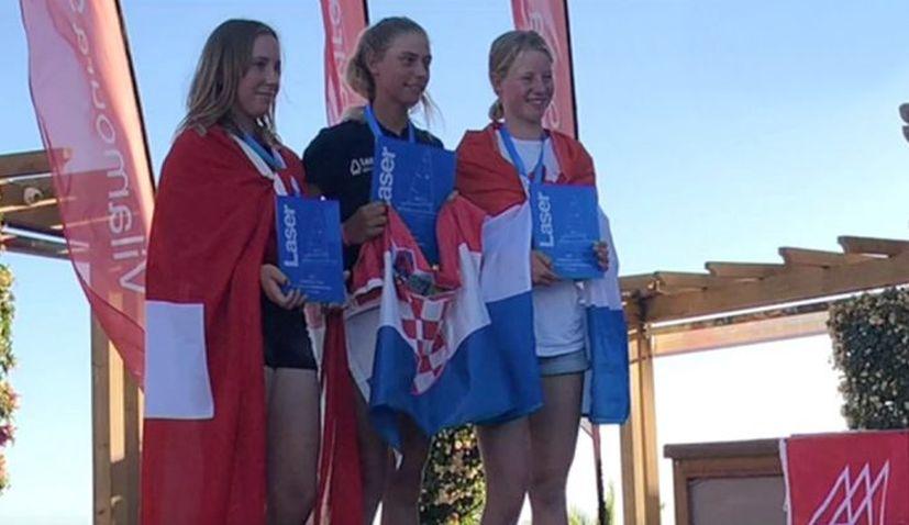 Croatian teen Petra Marendić becomes European junior sailing champion