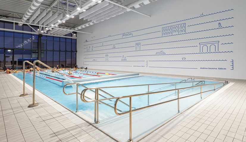 Visual identity of Pula pools wins prestigious American award