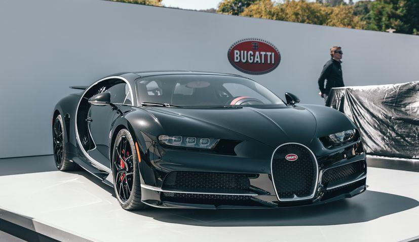 Croatia's Rimac reportedly in talks to buy Bugatti brand