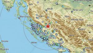 Earthquake Croatia Gracac