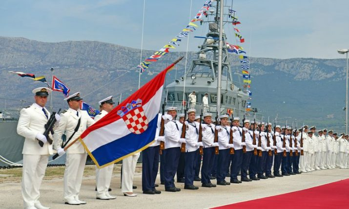 Croatian Navy Day and Navy's 29th anniversary marked in Split