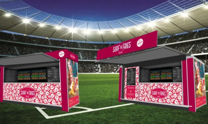 Surf'n'Fries: Croatian fries brand coming to stadiums in the UK and France