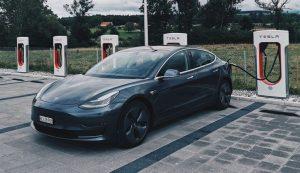 Tesla store in Croatia