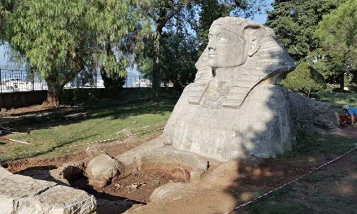 Zadar Sphinx restoration project begins
