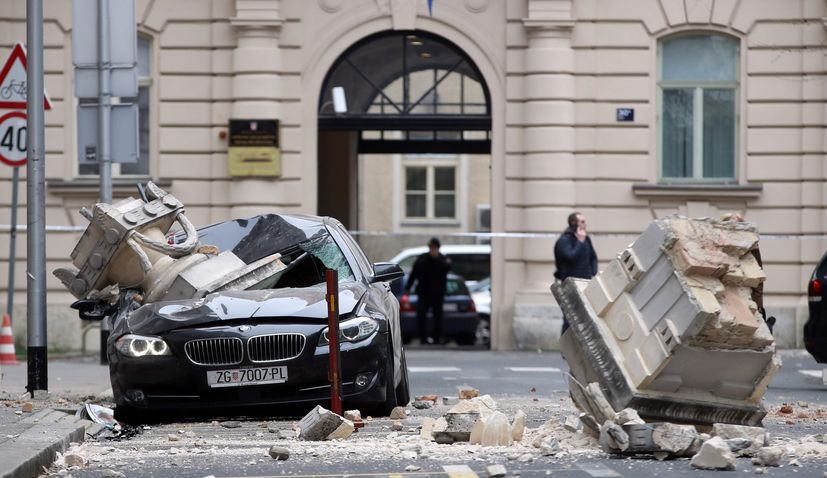 Zagreb earthquake reconstruction