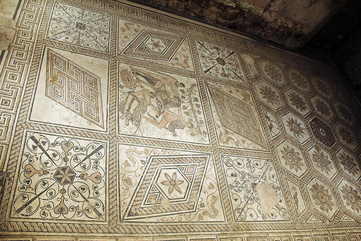 Pula mosaic