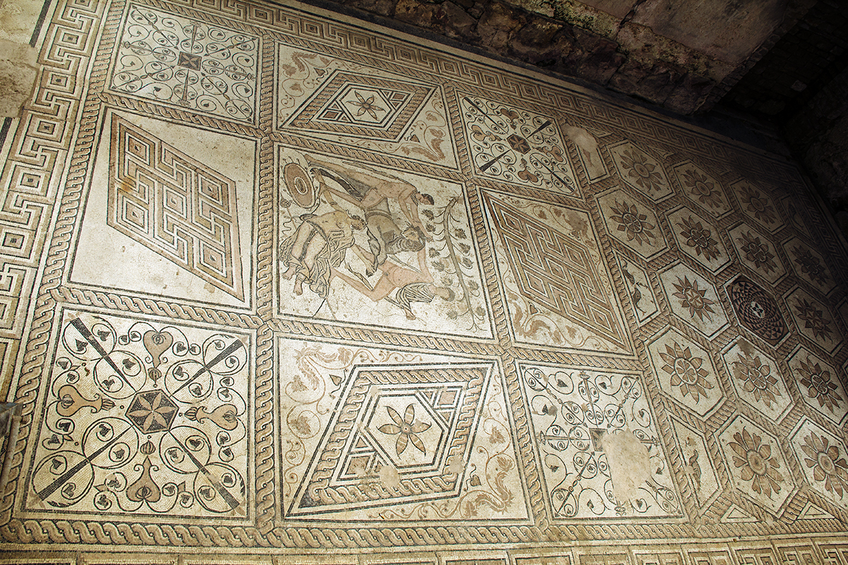 Mosaico de pula