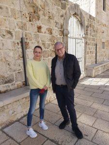 Ana Hrnic and Peter Greenburg