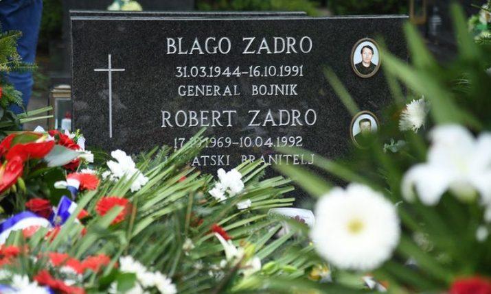29th anniversary of death of Homeland War hero Blago Zadro observed in Vukovar