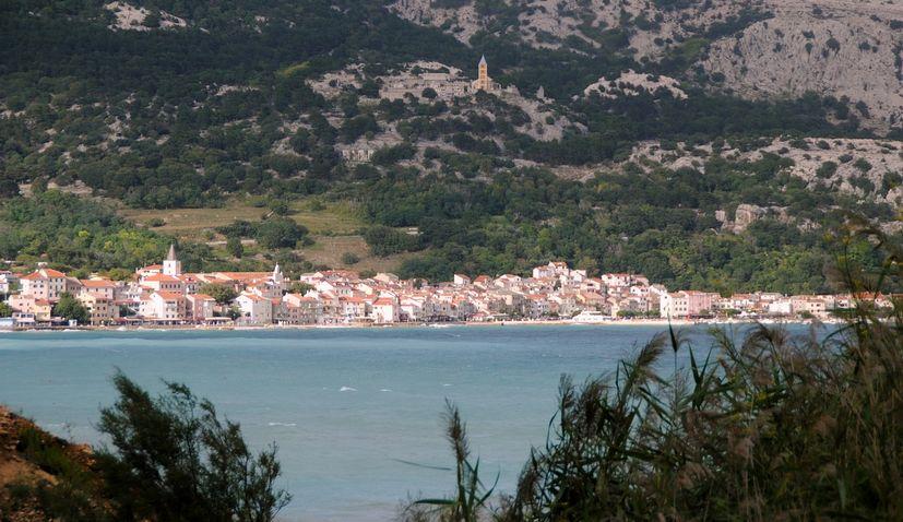 Baska Krk island croatia port