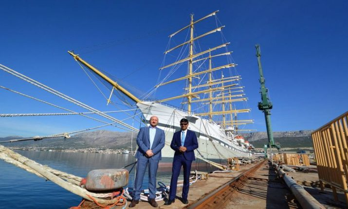 Croatian shipyard Brodosplit aiming to re-establish business ties in India
