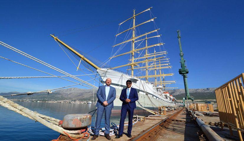Croatian shipyard Brodosplit aiming to re-establish business ties in India
