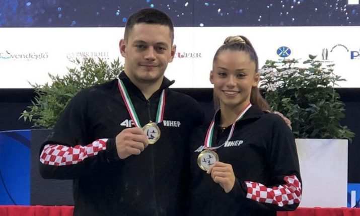 Gymnastics World Cup: Christina Zwicker and Tin Srbić win gold medals for Croatia