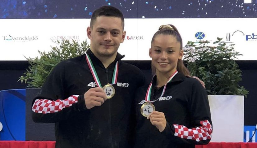 Gymnastics World Cup: Christina Zwicker and Tin Srbić win gold medals for Croatia