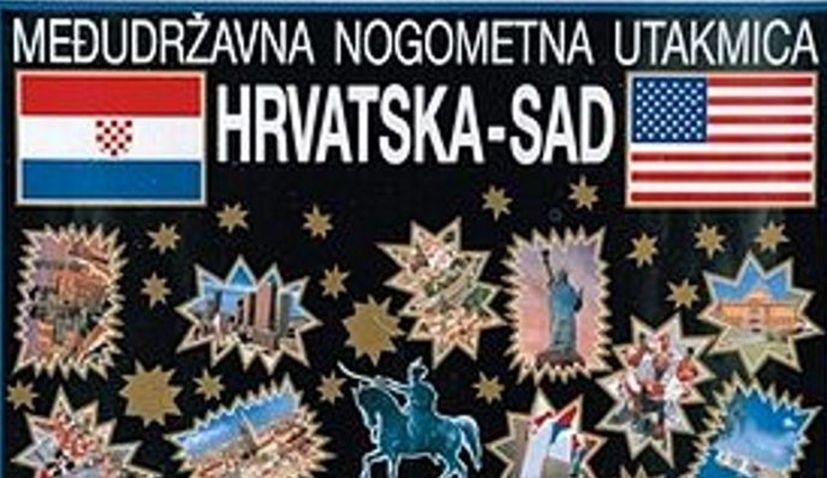 USA CROATIA FIRST OFFICIAL MATCH