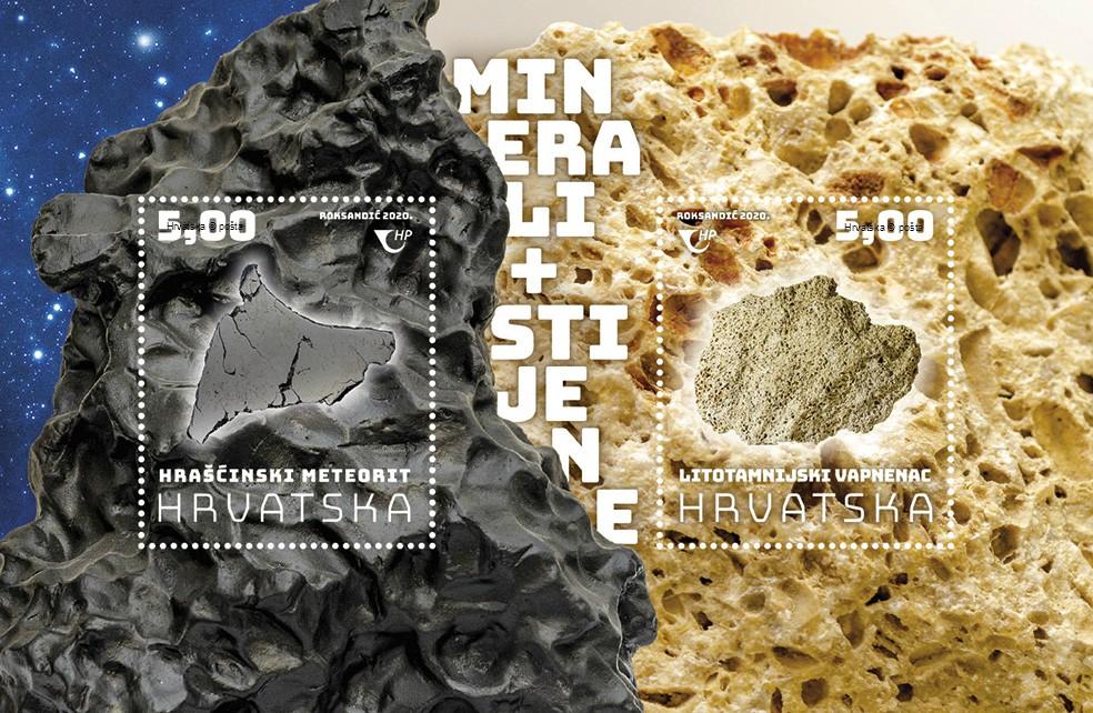 Croatian Post minerals rocks