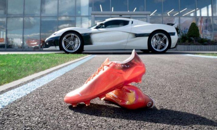 Croatia's Rimac teams up with Puma to create 'world's fastest football boot'