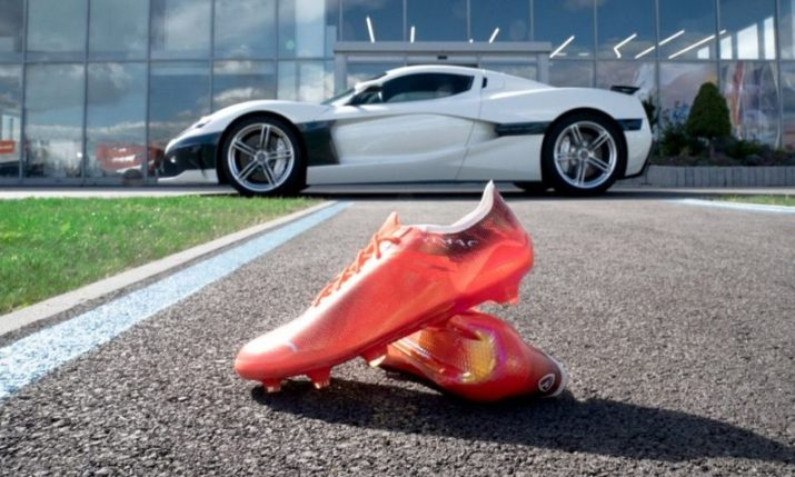 Croatia's Rimac teams up with Puma to create 'world's fastest football boot'