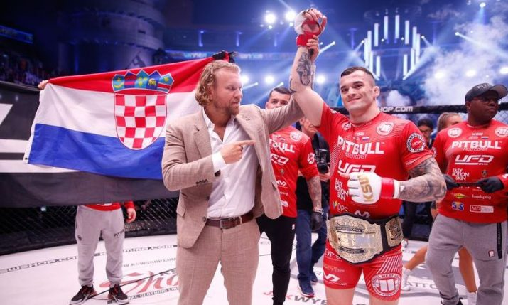 MMA: Croatian champion Roberto Soldic returns at KSW 56