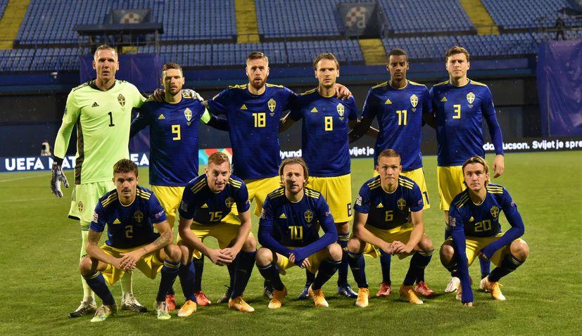 CROATIA NATIONS LEAGUE SWEDEN