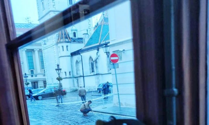 St. Mark's Square shooting: Man suspected of wounding police officer commits suicide