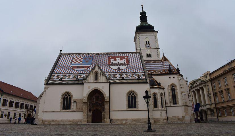 St. Mark's Square, Zagreb