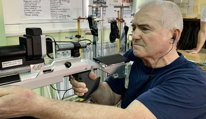 PHOTOS: Adapted air rifles for blind and visually impaired presented in Zagreb