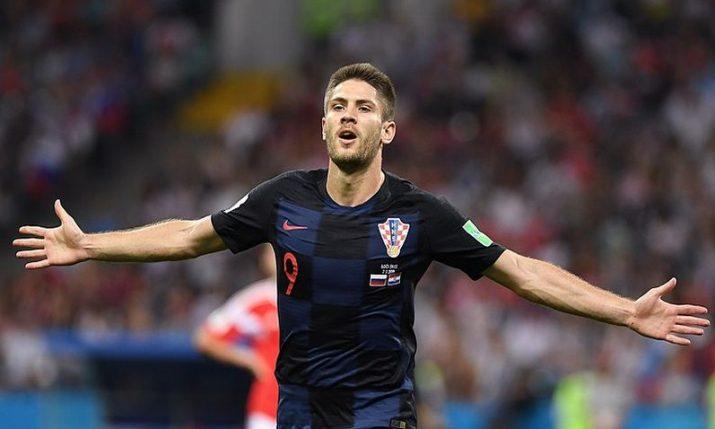 Croatian striker Andrej Kramarić writes history