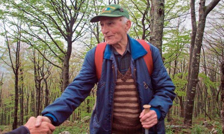Croatia's oldest mountaineer turns 100 years old