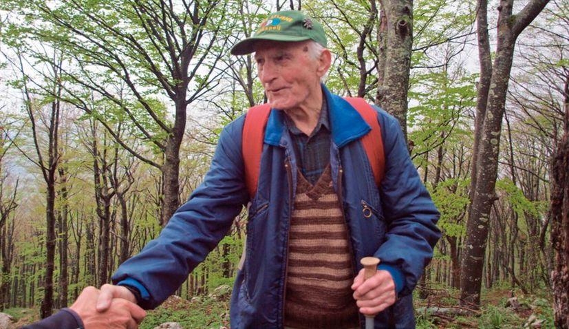 Croatia's oldest mountaineer turns 100years old