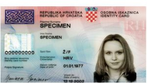 The Croatian parliament on Tuesday amended the Identity Card Act, whereby the new identity card will contain biometric identifiers in the form of a facial image and two fingerprints and be valid for five years.