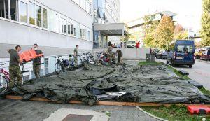 zagreb hospital croatian army