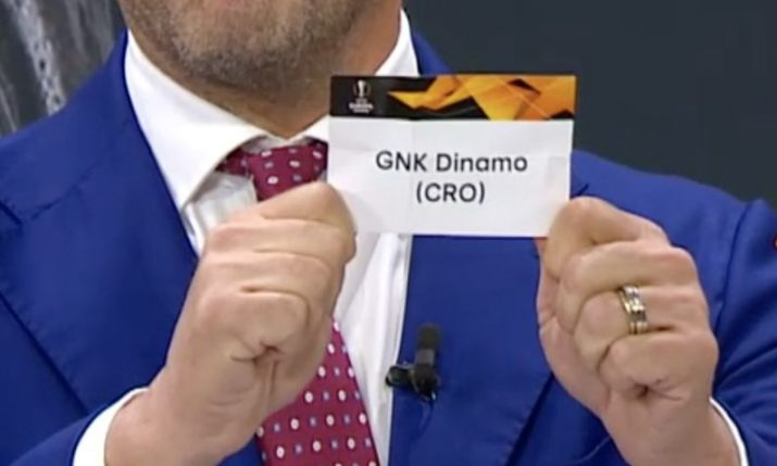 Europa League: Dinamo Zagreb and Rijeka learn group opponents
