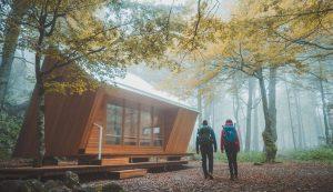 velika kapela shelter hiking croatia