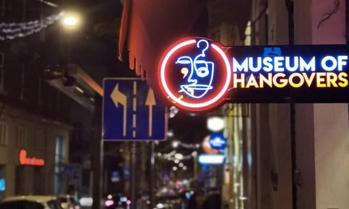 """Museum of Hangovers Zagreb: """"History of Alcoholic Drinks"""" exhibition to open"""