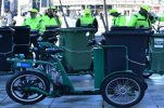 Zagreb's street cleaners get 30 new electric tricycles