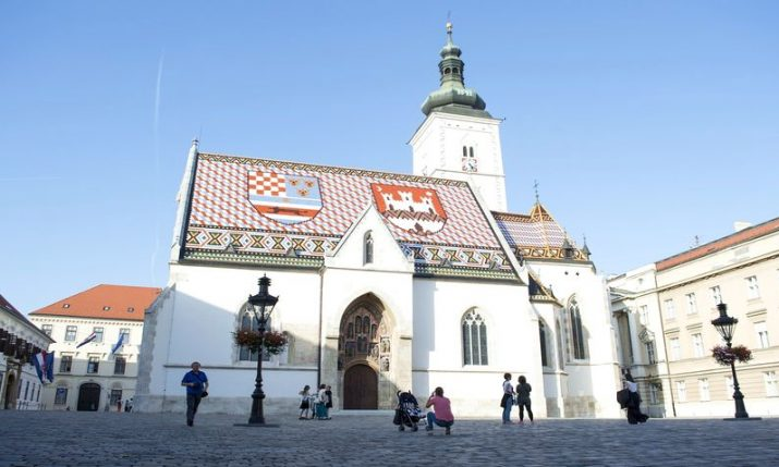 Movement in Zagreb's St. Mark's Square restricted  until longer-term solution found