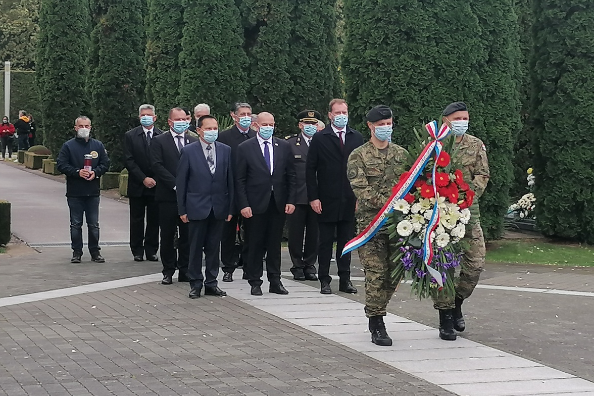 Vukovar wreath all saints