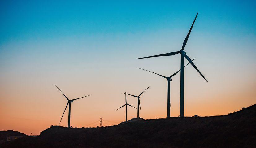 Wind turbine in Bosnia Herzegovina