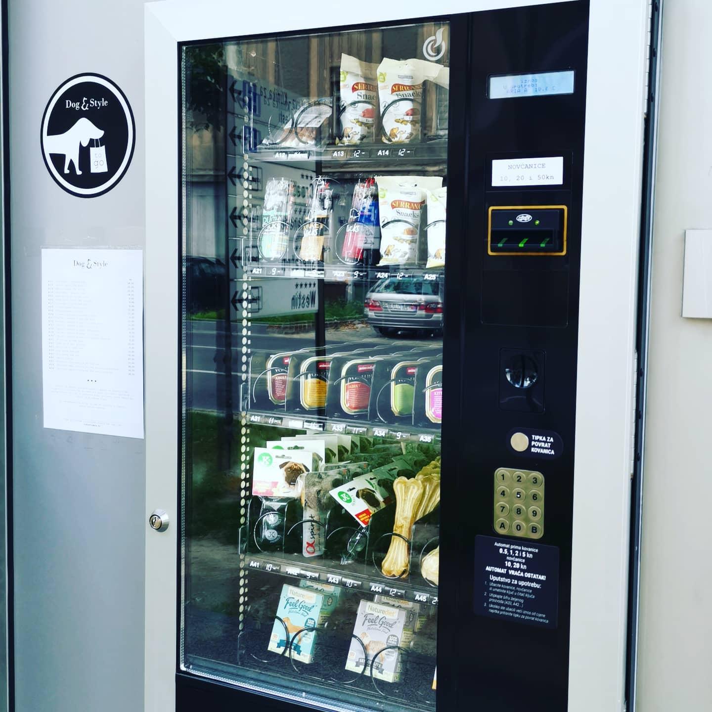 First vending machine for pets in Croatia